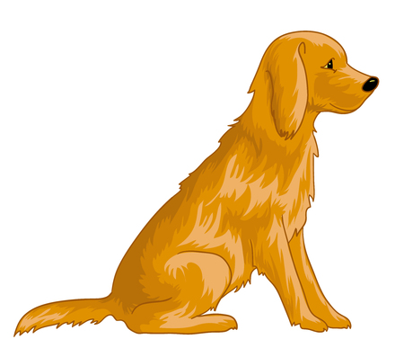 one of a kind: Cute dog, eps10