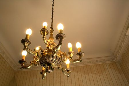 old chandelier photo