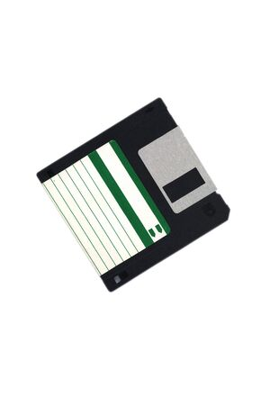 computer floopydisk isolated in white photo