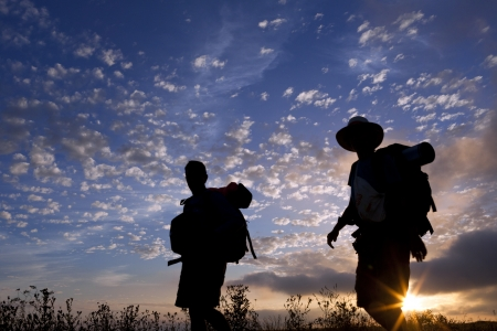 backpackers: Morning of the journey