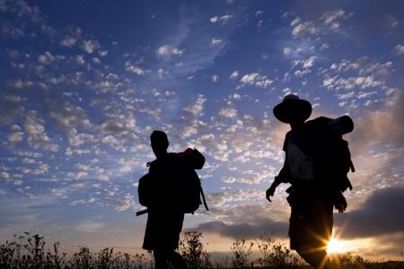 camino de santiago: Morning of the journey