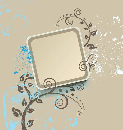 vectors abstract: marco de la vendimia Vectores