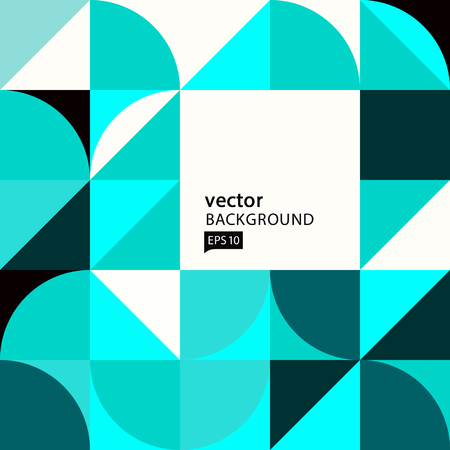 Vector Abstract Geometric Composition 일러스트