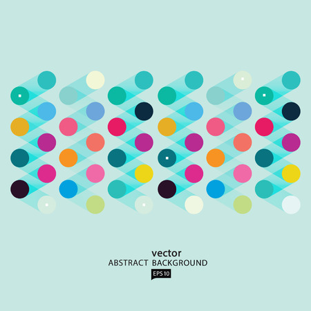 Vector Abstract Geometric Polygon Background