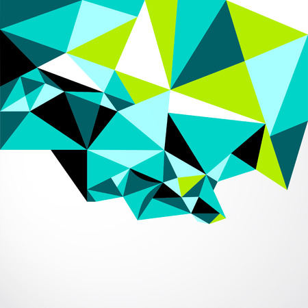 Vector Abstract Geometric Polygon Background. 向量圖像