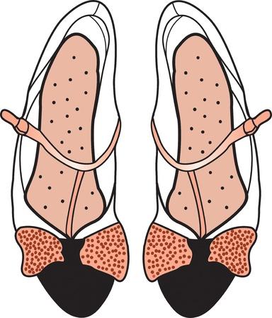 Pink ladies  shoes