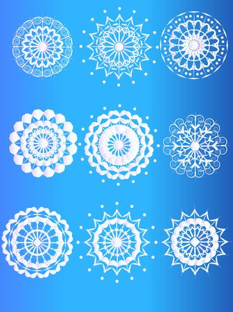 Snowflakes Stock Vector - 16984077