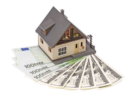 privatization: The concept of real estate purchase Stock Photo