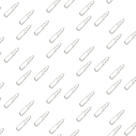 bullets: Seamless vector pattern with bullets. Vector Illustration Illustration