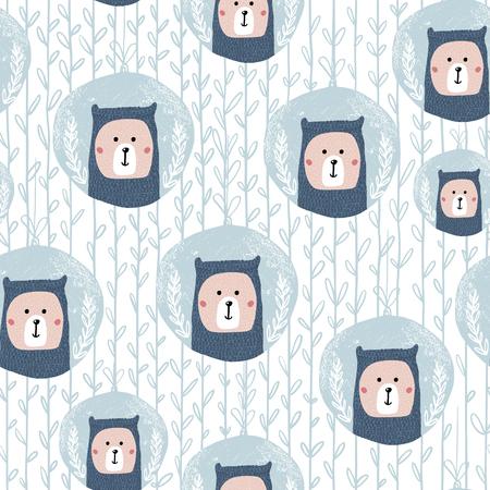 Seal drawing pattern. Stock Illustratie