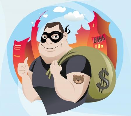 toughness: L'illustrazione del Robber