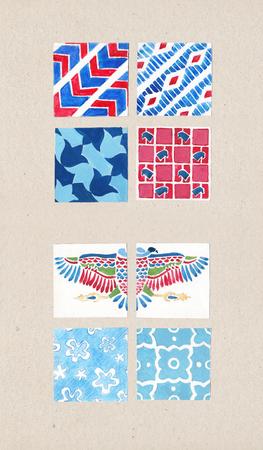 Design-Elemente Set mit erstaunliche Details