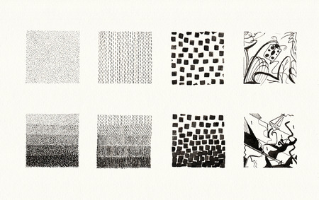 Grafische Elemente Set mit erstaunlichen und Textur-Details