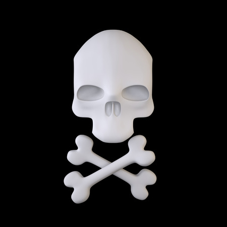 Jolly Roger (Pirate Skull and Crossbones Sign)
