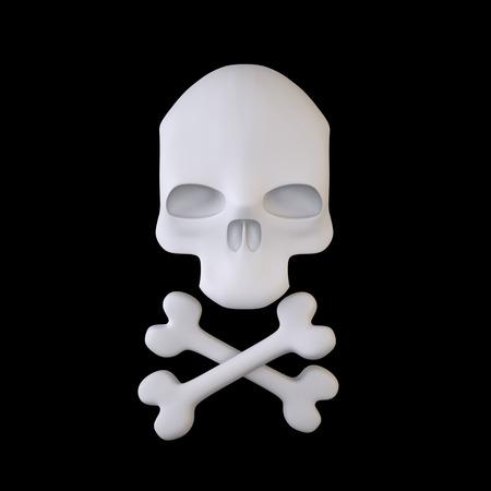 Jolly Roger (Piratentotenkopf Zeichen)