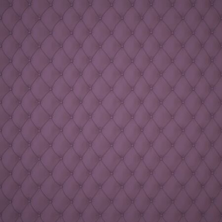 Dark Capitone Upholstery Pattern Background with Buttons for Decoration. Classics and Rococo. Rendering in 3D Program.