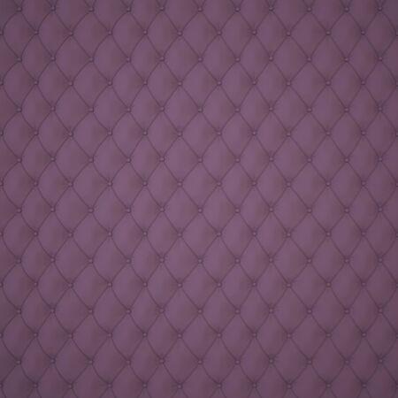 Dunkle Capitone Polster Muster-Hintergrund mit Tasten f�r die Dekoration. Classics und Rokoko. Rendering in 3D-Programm.