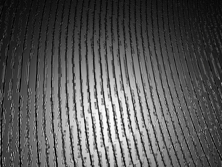 grooved: Scratched Texture - Vinyl Texture. A Background of Striped, Grooved, Scratched Vinyl Texture. Digitally Generated Image. Rendering in 3D Program