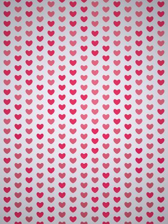 A Background of Hearts. Red Hearts. Valentines Day Hearts. I Love You symbol. Confetti of Hearts. Rendering in 3D Program Stock Photo