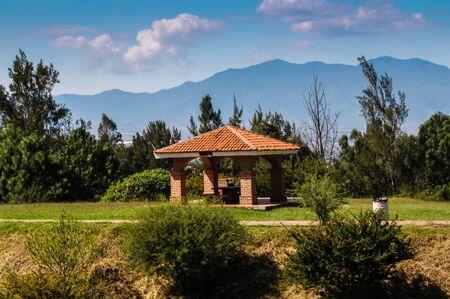 ecologic: Rest on the terrace penalties ecologic park