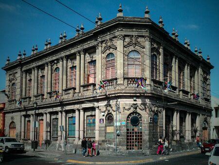 Old building in a corner of Guadalajara Mexico