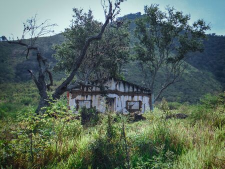 Abandoned house on the country