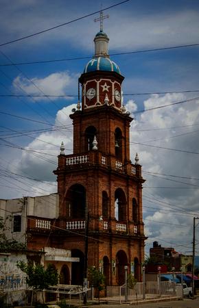 The Main Church in Vista Hermosa Mexico Stock fotó