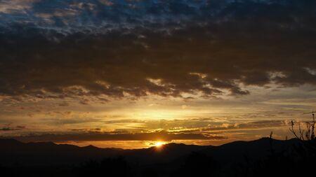 The sun at sight