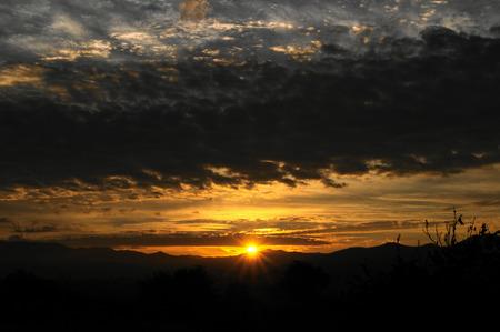 mounts: Sun rising on the mounts