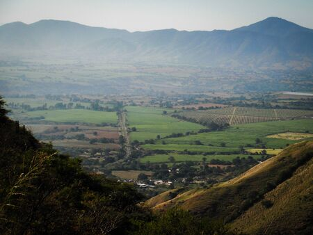 mounts: Tuxpan valley view from the Mounts