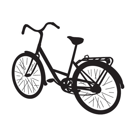 peddle: Vector isolated bike Illustration