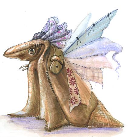 creature rag doll 写真素材