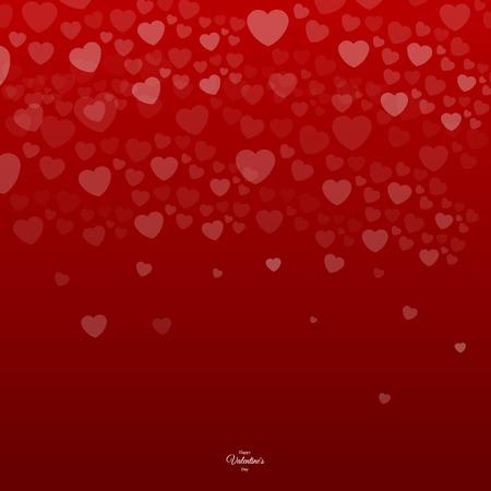 Valentine`s day backgrounds. Vector illustration.
