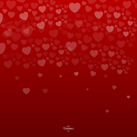 Valentine`s day backgrounds. Vector illustration.
