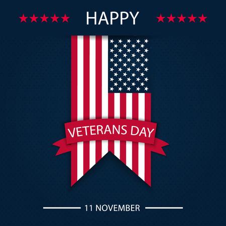 Veterans day. Honoring all who served. Veterans day background. Vector illustration. November 11 Çizim