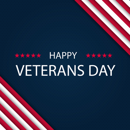 Veterans day. Honoring all who served. Veterans day background. Vector illustration. November 11 Illustration