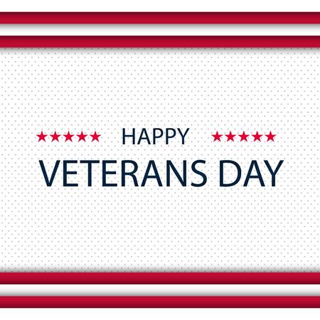 Veterans day. Honoring all who served. Veterans day background. Vector illustration. November 11 Illustration