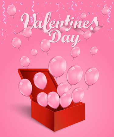 Valentines day background greeting card design template. Party poster, banner or invitation gold glittering stars confetti glitter decoration. Vector background with golden gift bow Фото со стока - 126807498
