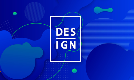 Covers with minimal design. Dynamic shapes composition. Cool bright covers. Geometric backgrounds for your design. Applicable for Banners, Placards, Posters, Flyers. Vector EPS10. Фото со стока - 125971592