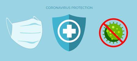 Coronavirus. Stop coronavirus. The virus spreads around the world.