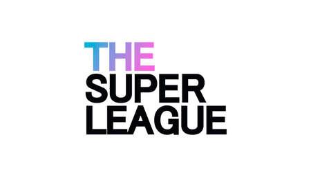 European Super League. Football tournament. 矢量图像