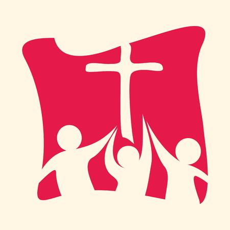 IGLESIA: grupo de la iglesia Vectores
