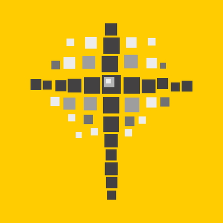 the heavens: Cross of squares