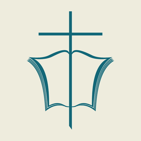 iglesia: Cruz y la Biblia
