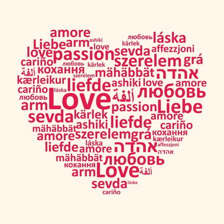 religion catolica: Corazón, palabras de amor