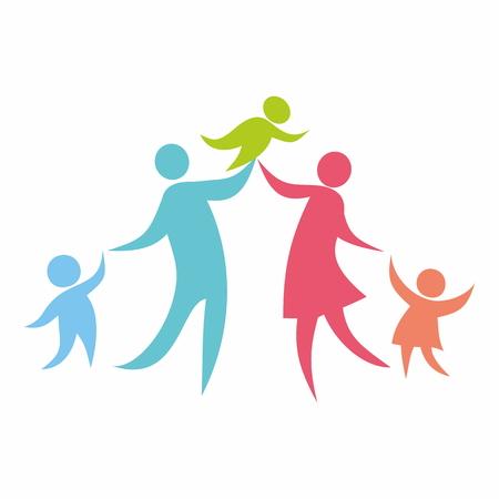 familia en la iglesia: Familia, iglesia
