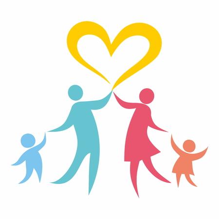 hopes: Family in love Illustration