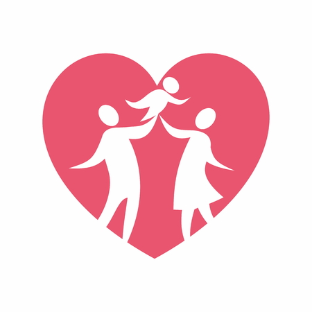 em: Family in love Ilustra��o