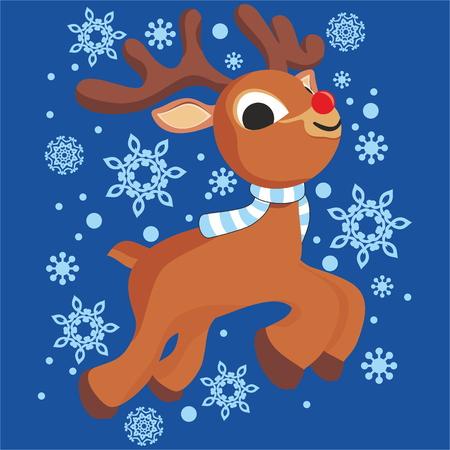 new year's cap: reindeer