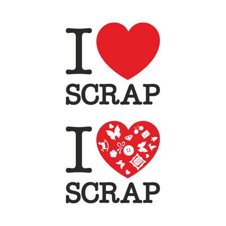 scrap: I love scrap